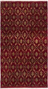 Hand-knotted-Turkish-Carpet-5-039-4-034-x-9-039-7-034-Keisari-Vintage-Traditional-Wool-Rug