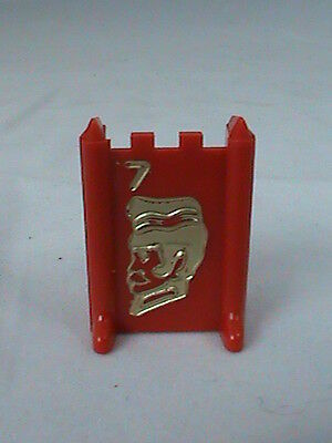 1986 STRATEGO Board Game Part 1 RED ARMY #4 MAJOR Pawn Replacement Piece One