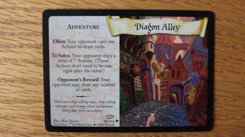 Harry Potter TCG Legue Promo Diagon Alley 48//116 NM//Mint