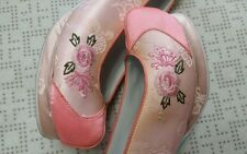 """Korean Traditional Clothes """"Hanbok Shoes"""" for WOMAN 240mm - size 7. N0.40-1"""