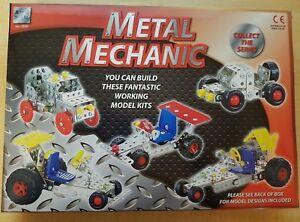 A à Z-metal Mécanicien - 6+ Ans-cinq Modèle Véhicule Construction Kit-afficher Le Titre D'origine Blanc De Jade