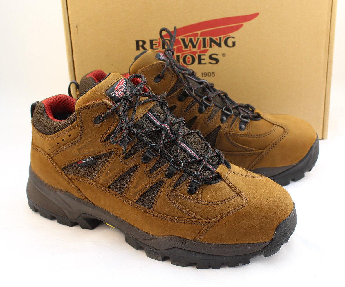 "New rosso WING 6672 Uomo Dimensione 11.5 EE Aluminum Toe Toe Toe 3"" Hiker Work stivali RETAIL  195 41b625"
