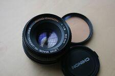 Pentax K Mount AUTO CHINON 50MM F1.9 focale fissa standard-OTTIMO