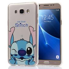 Carcasa Funda De Silicona TPU Ultra Fina Stitch para Samsung Galaxy J7 2016