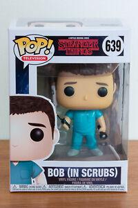 Stranger Things Bob In Scrubs Funko Pop