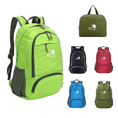 Hot Unisex Men&Women's Backpack Satchel Travel Sport Hiking Bag Laptop Rucksack