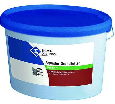 Sigma Aquadur Grundfüller 12,5 Liter Durch Wissenschaftlichen Prozess Einbettmasse Für Armierungsgewebe