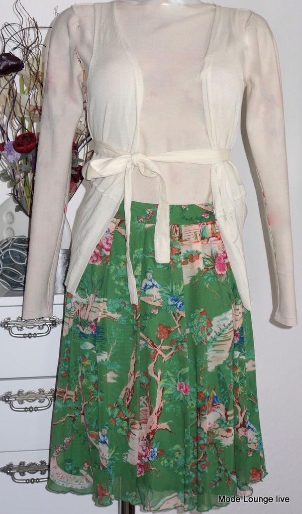 King Louie Skirt Green Nylon Kjole Rok Asia Pleat Skirt Pippa Earth Green