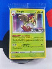 Pokemon Flapple Pre-Release Promo Rebel Clash SWSH022