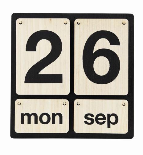 House Doctor Kalender Lightyear Holz ewiger Dauerkalender eternity