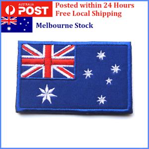 1-X-Australian-Flag-Patch-Sew-On-Stitch-On-Glue-On-8x5cm