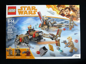 "Lego Star Wars ""CLOUD RIDERS SWOOP BIKES"" 75215 from Han Solo Movie 355 PCS NEW!"