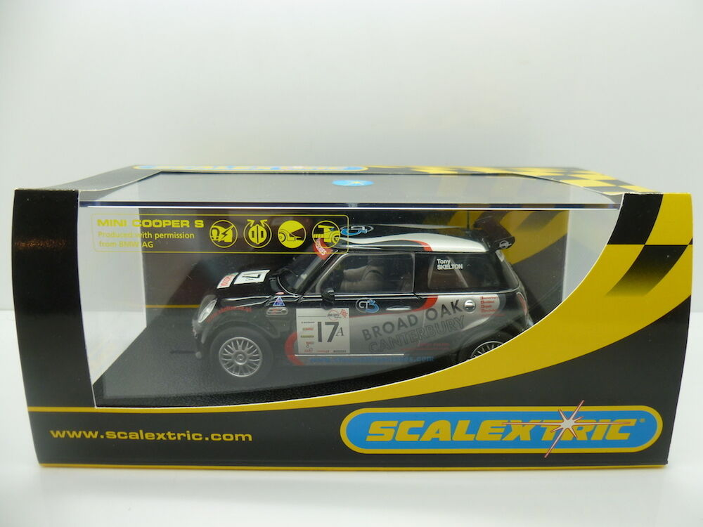 Scalextric C2565 Mini Cooper S Broad Oak No17, mint boxed unused