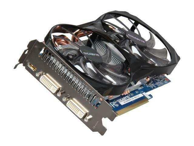 GIGABYTE GeForce GTX 560 Windforce 1GB GDDR5 Graphics Card GV-N56GOC-1GI