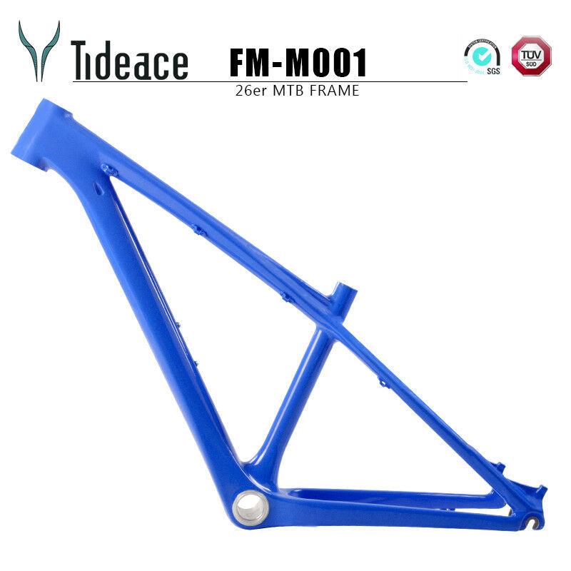 T800 26er 14 bluverde Carbon Fiber Mountain Bike Frames Cycling Bicycle Frame