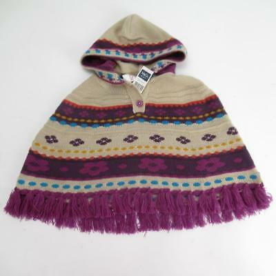 Lovely Baby Girl Tartan Poncho Feather trim// Hooded// 0-3 Months to 24M//Pink//Red
