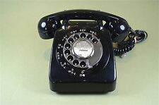 Original restored black colour model 706 vintage telephone 1970's-80's
