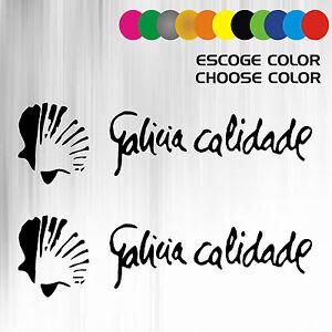 2 PEGATINAS VINILO - Galicia Calidade - Vinyl - AufKleber - Sticker - Moto R51RUqZO-07162738-949907017
