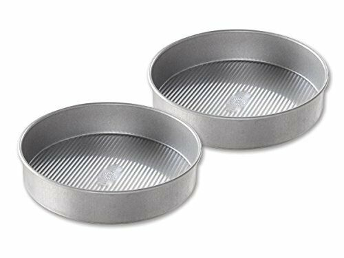 USA Pan Bakeware Round Cake Pan Nonstick /& Quick Release Coating Made 9 inch
