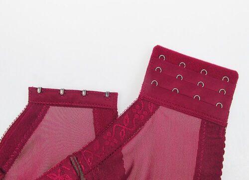 Plus Size Ladies Bra Delicate Lace Brassiere Lingerie Large Cup Underwear A-E
