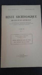 Rivista Archeologico Di L È E Del Centro-Orientale Volume Ix R.a.e. Dijon 1958 N