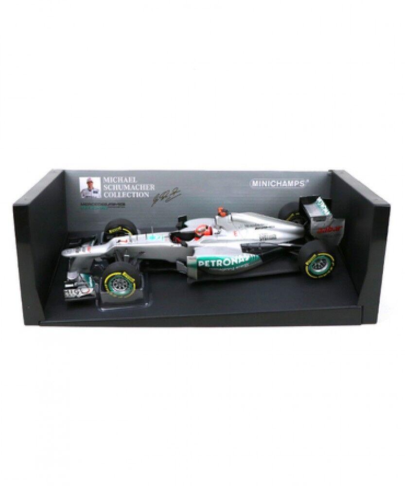 New Mini Champs 1 18 Scale Mercedes AMG Petronas F1 Team W03 Model car Japan