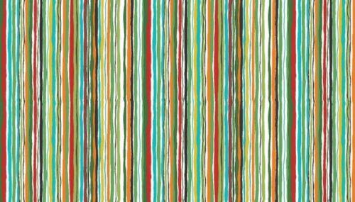 Tela De Algodón Makower Dragonheart Stripe ondulado colores audaces Fat Quarters metros