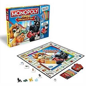 Monopoly Junior Electronic Banking By Hasbro Gaming Ebay