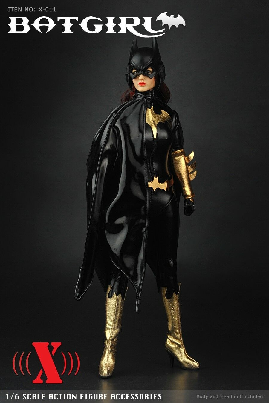 X-TOYS X-011 1 6 Scale Female Female Female BATGIRL Suit Set For 12  Woman Figure dedf3f