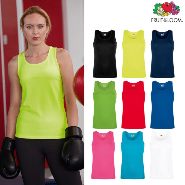 Fruit of The Loom Damen Tank Top Valueweight Vest Lady-Fit