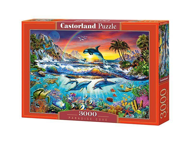 Castorland puzzle 3000pieces paradise cove 92x68cm   36  x27  versiegelte kiste c-300396
