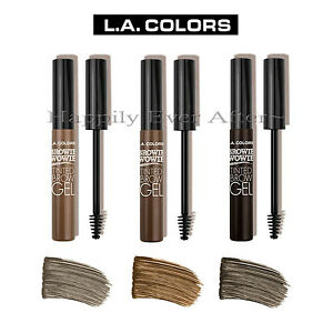 LA Colors Browie Wowie Tinted Brow Gel - Tinted Brow Mascara for ...