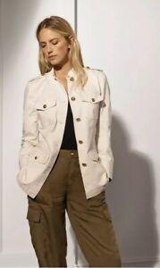 Ralph-Lauren-Femme-Coupe-Droite-Pantalon-Cargo-UK-12-US8-BNWT-RRP-135