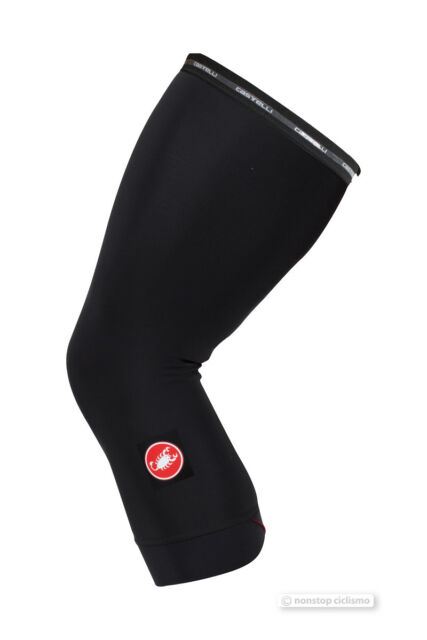 Castelli THERMOFLEX Warm Fleece Cycling Leg Warmers BLACK