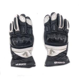 Vanucci-Motorradhandschuhe-Gr-XS-Leder-und-Textil-fuer-Sport-Touring-Sommer