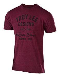 Troy Lee Design Men/'s Adult Flowline S//S Jersey Velo Lagoon Teal MTB//BMX 3357110
