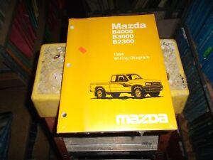 1996 Mazda B2300 B3000 B4000 Pickup Truck Electrical ...