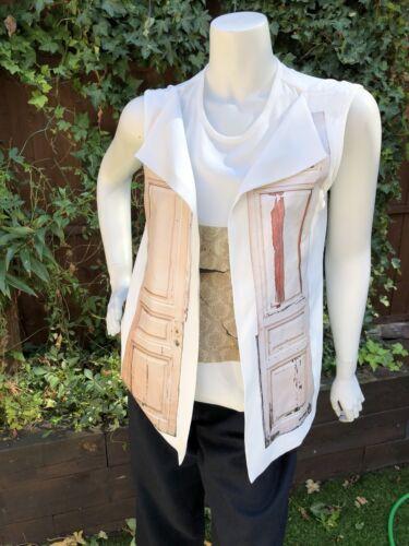 Aka georgiana gilet realizzata blusa con M designer dalla Elegante Nanita xZOq70wvY