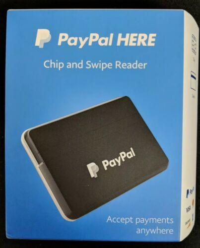 Model PCSUSDCRT PayPal Chip and Swipe Reader Black