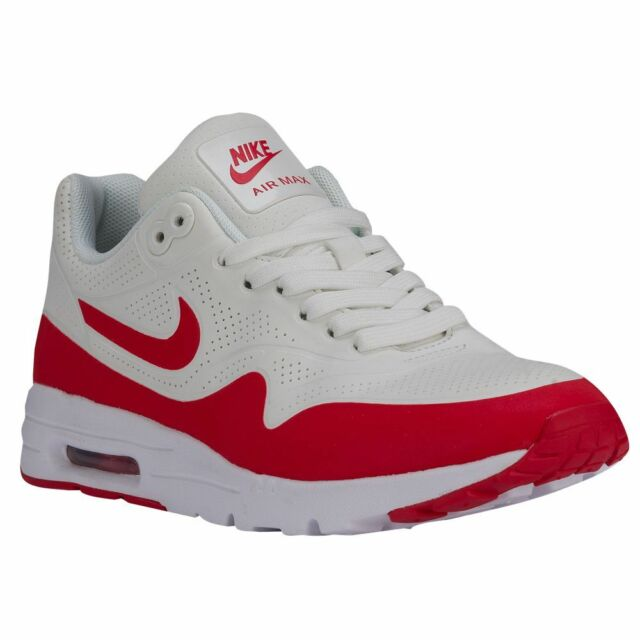 half off abc3d 99030 Womens Nike Air Max 1 Ultra Moire Running Shoes, 704995 102 Size 6 Summit  Wh