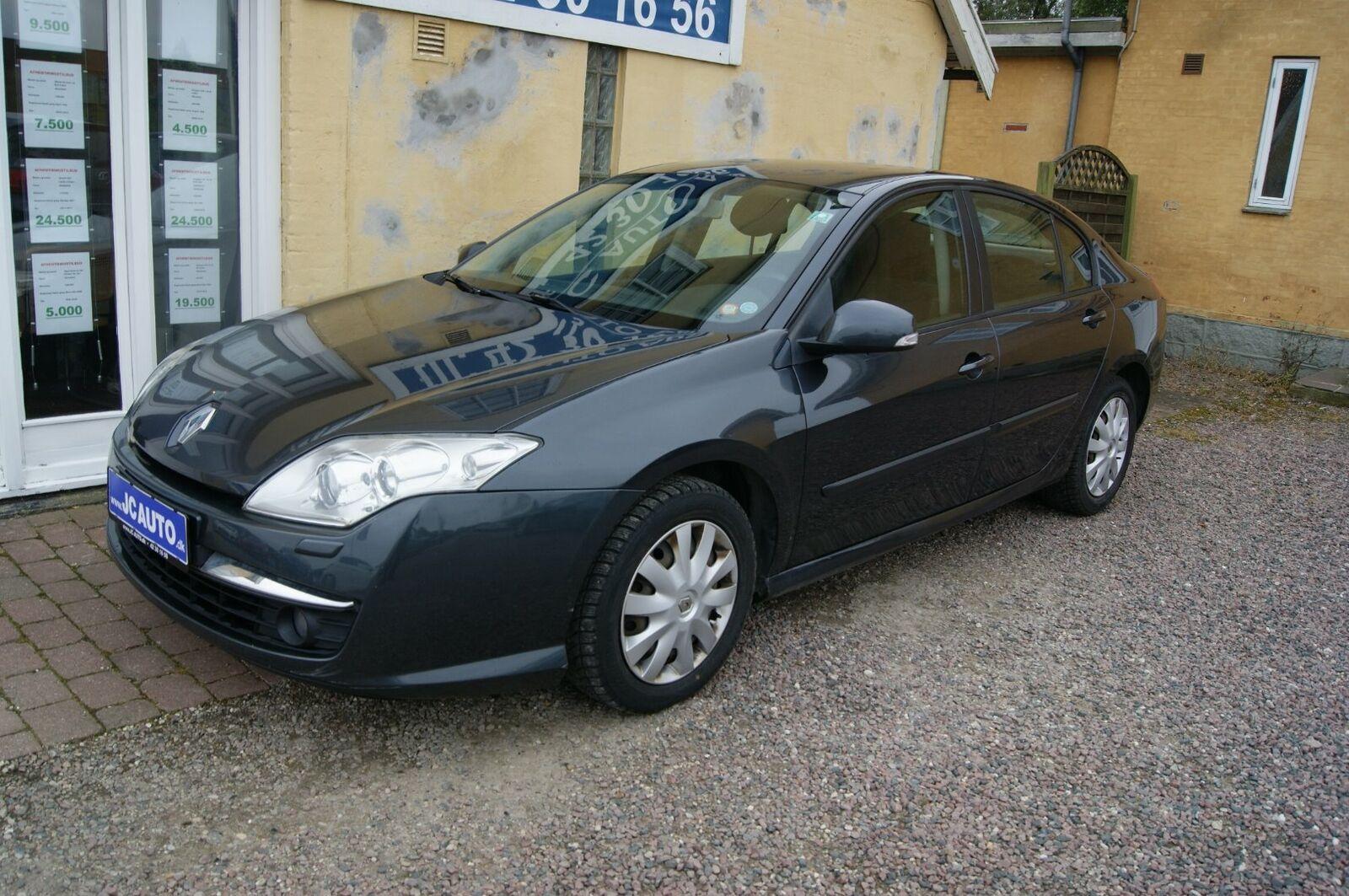 Renault Laguna III 1,5 dCi 110 Expression 5d - 19.500 kr.