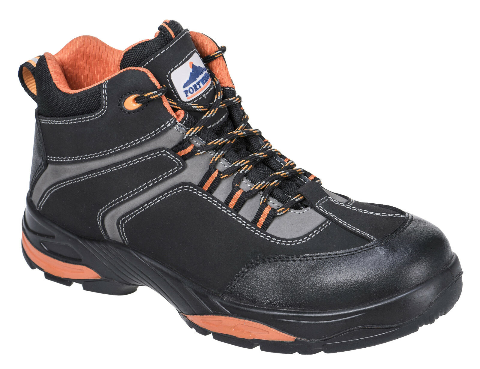 PortWest Men Compositlite Operis Boot S3 HRO Blk bluee Varios Size FC60