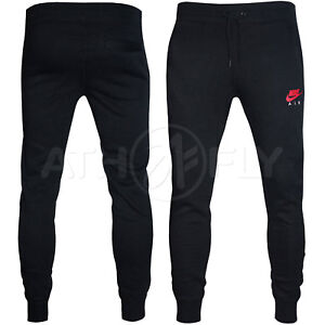 ef248173acf9 Nike Men s NSW Air Fleece Heritage Sweatpants Jogger Bottoms Track ...