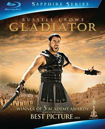 Gladiator - Russell Crowe Joaquin Phoenix - 2-Disc Sapphire Series Blu-ray - $1.60