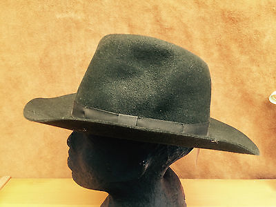 Olney Small Olive Crushable Fur Felt Hat Small