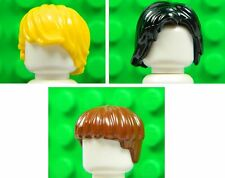 Lego Hair Wigs [x3] for minifigures boy man # GENUINE # NEW #