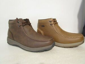 lugz mens antonio casual slip resistant chukka boots