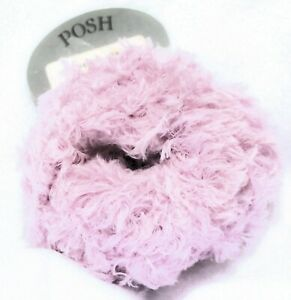 SALE! Skacel POSH Super Soft EYELASH Fur Yarn 5814 Pink