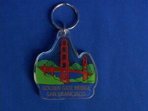 San Francisco Key Chain Souvenir -  Golden Gate Bridge Shape