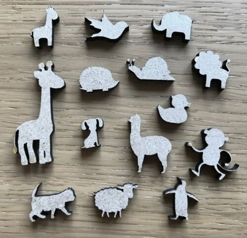 Various sizes /& Quantities Pets MDF Farm Zoo Animal Wooden Craft Shapes